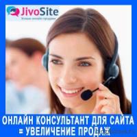 Бесплатный онлайн консультант для сайта. Установка программы JivoSite