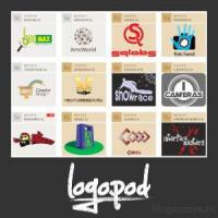 Logopod — сервис по продаже оригинальных доменов и готовых авторских логотипов