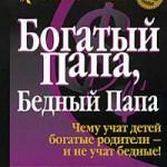 """Книга Роберта Кийосаки """"Богатый Папа, бедный Папа"""""""
