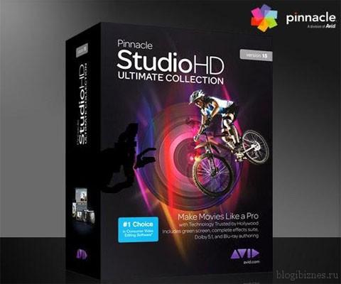 Видеоредактор Pinnacle Studio 15