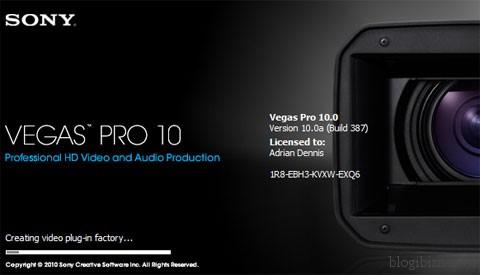 Видеоредактор Sony Vegas Pro 10