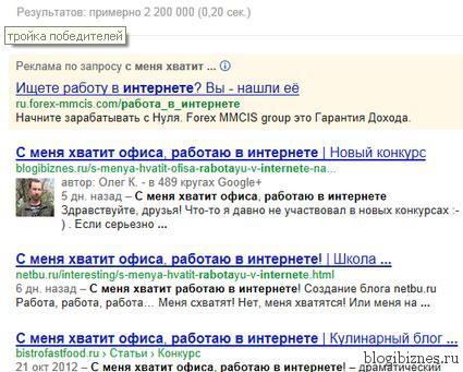 """Результаты конкурса """"Я SEO-шник"""""""