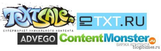 Лучшие биржи контента
