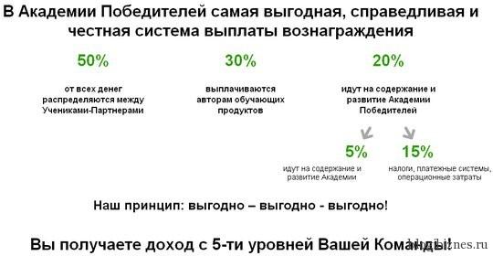 Партнерская программа Winners Academy