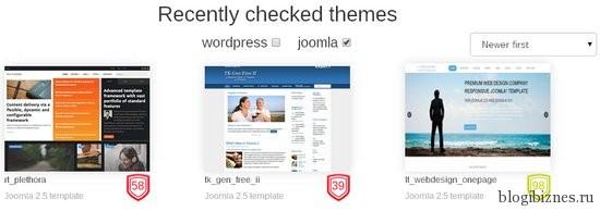 Темы WordPress, прошедшие проверку на валидность в сервисе ThemeCheck.org