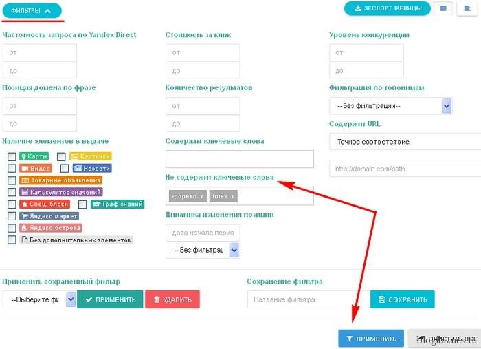 Система фильтрации запросов