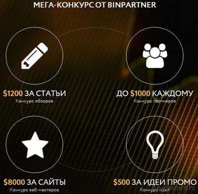 Как заработать в партнерке BinPartner