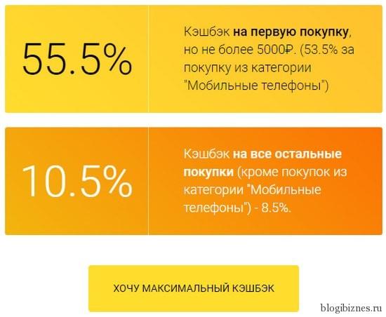 Акция кэшбэк-сервиса ePN и банка Tinkoff