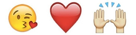 Emojis в Instagram